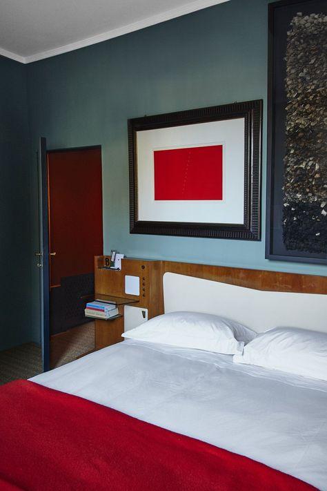 MILANO MOZART - DIMORESTUDIO | Camera da letto rossa, Camera ...