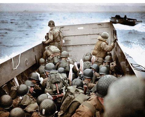 Soldati pronti allo sbarco