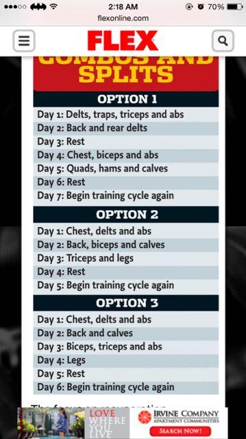 Pin On Gym Workout
