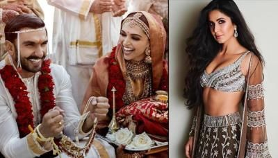 Katrina Kaif Wishes Deepika Padukone On Her Wedding Though She Was Dropped Out Of The Guest List Katrina Kaif Katrina Deepika Padukone