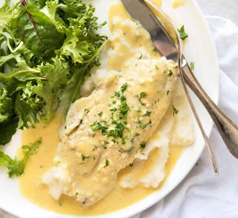Tranches De Poisson Sauce Cremeuse Au Cookeo Recipes Pinterest
