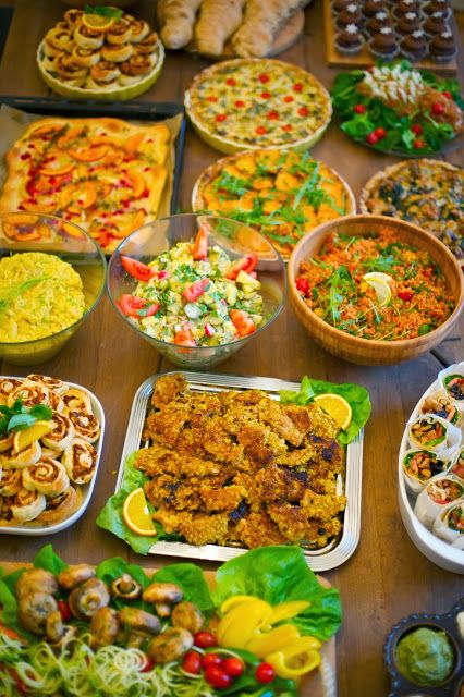 list of buffet food midway media