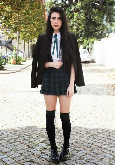 Colegiala outfit colegio school outfits, school uniform girls y girl