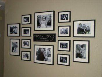 Kitchen Wall Collage Ideas Black 55 Best Ideas Frame Wall Collage Photo Wall Decor Family Wall Decor