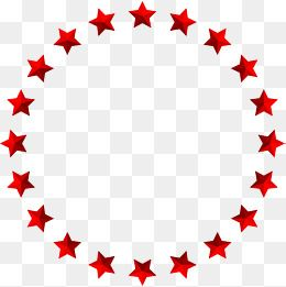 Red Simplified Star Circle Star Clipart Circle Clipart Gules Png Transparent Clipart Image And Psd File For Free Download Circle Clipart Svg Shapes Doodle Patterns