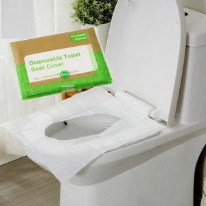 Portable Disposable Toilet Seat Cover Mat For Travel Camping Waterproof Paper Pad Bathroom Accessiories