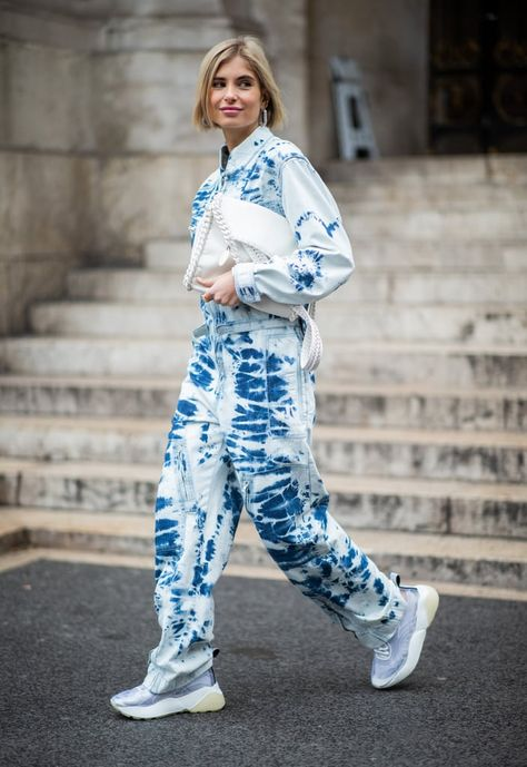 Xenia Adonts is seen outside Stella McCartney during Paris Fashion Week Womenswear Fall/Winter on March 2019 in Paris, France. Get premium, high resolution news photos at Getty Images