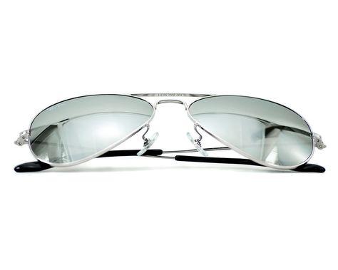 d4928d3b9e Ray Ban RB3025 Aviator Classic W3275 Silver Frame  Grey Mirror Glass  Sunglasses  RayBan  AviatorClassic