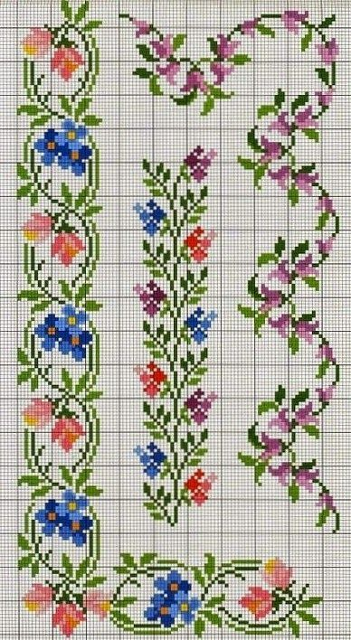 150 Cross Stitch Borders Ideas Cross Stitch Borders Cross Stitch Stitch