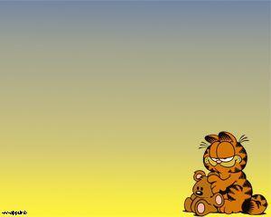 Garfield Comics Plantilla Powerpoint Ppt Template