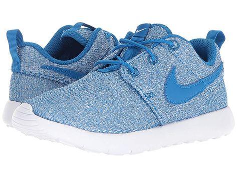38e0d114d931 Nike Kids Roshe One (Little Kid) Boys Shoes Blue Nebula Blue Nebula White