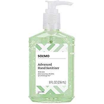 Solimo Hand Sanitizer With Vitamin E And Aloe Only At 2 60 Hand