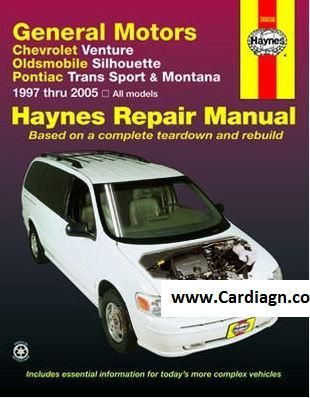 Chevrolet Venture Oldsmobile Silhouette Haynes Repair Manual Chevrolet Venture Repair Manuals Oldsmobile