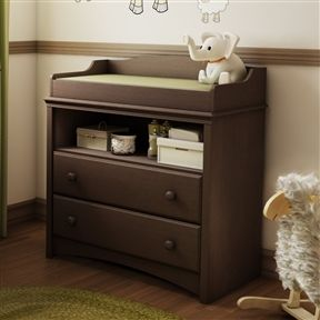 Diaper Changing Table In Espresso