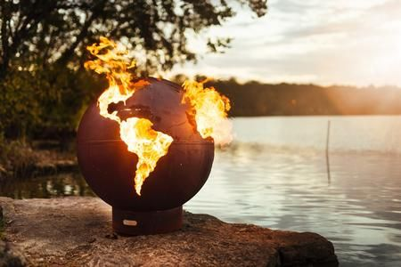 Third Rock Mls180 Lp Aweis 36 Fire Pit With 180k Btu Brass Burner And All Weather Electronic Fire Pit Globe Fire Pit Art Outdoor Fire