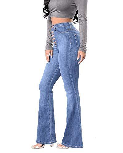 Jeans a Zampa a Vita Alta Donna find