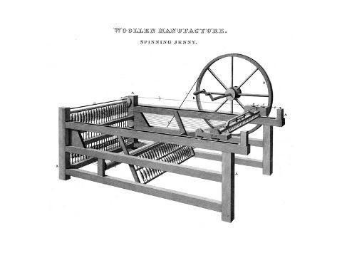 Spinning Jenny Industrial Revolution Spinning Jenny Industrial