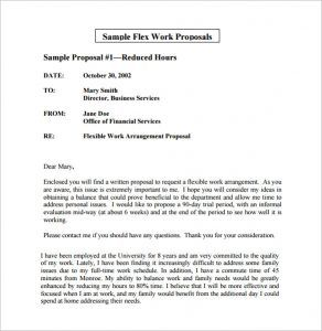 Flexible Business Proposal Template Sample Flex Work
