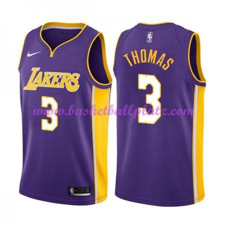 quality design d146e c1701 Los Angeles Lakers Trikot Herren 2018-19 Isaiah Thomas 3 ...