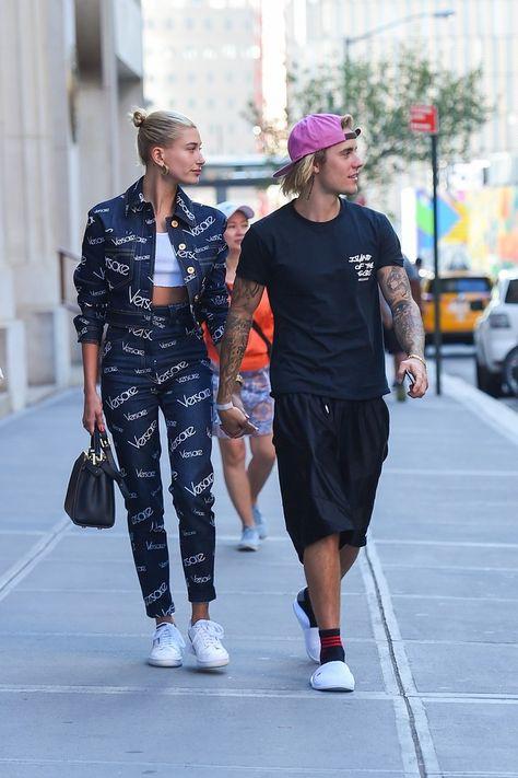 Perfect Versace streetwear Hailey Baldwin