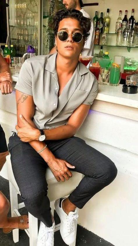Colarinho Cubano - Camisa masculina Verão 2020