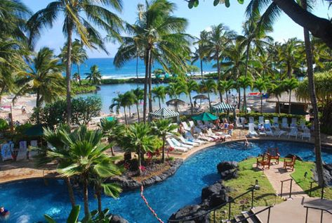 Stayed here @ the Grand Hyatt in Kauaii, Hawaii 2011 on Honeymoon. The most amazing hotel I've ever seen :)