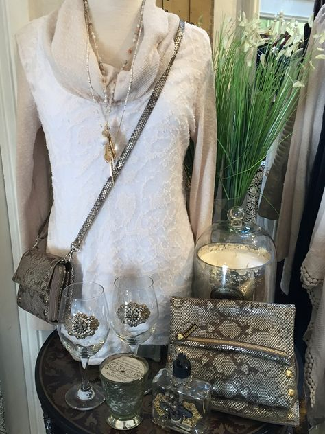 This layered look is just so sumptuous! This beautiful XCVI sweater blouse is accessorized with a Chan Luu necklace and an iridescent Hammitt cross-body. See more great outfits at www.fairendel.com #outfitideascasual #outfitideascasualsummer #outfitideascasualedgy #outfitideascasualcute