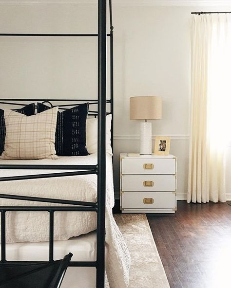 The Kelly End Table is a dream in @ecsappington's master bedroom ☁️☁️ #WayfairAtHome