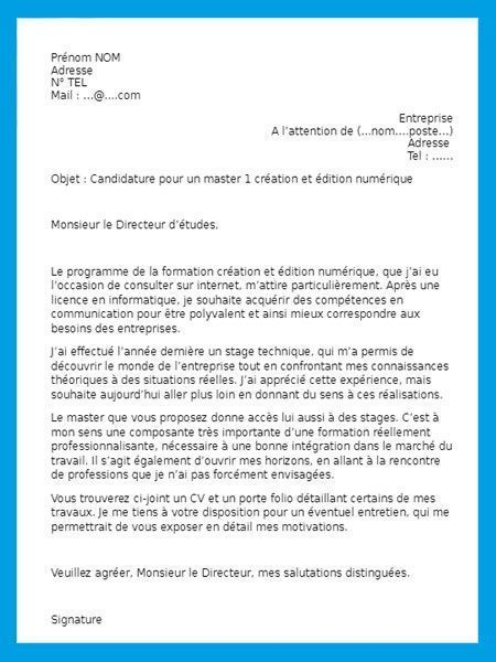 Lettre De Motivation 1000 Modèles Gratuits De Lettres
