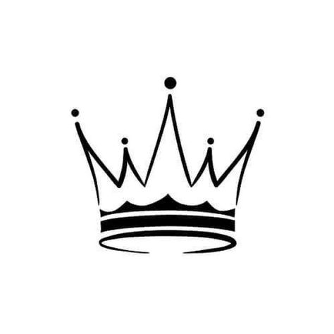 King crown temporary tattoo | Etsy