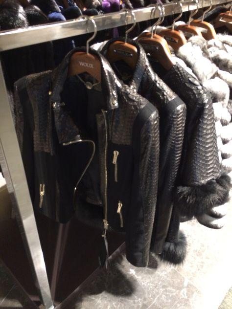 Gianfranco Ferre with Esther levi (levinson leather & fur designer ...