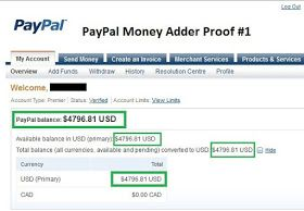 Account fake online paypal generator PayPal