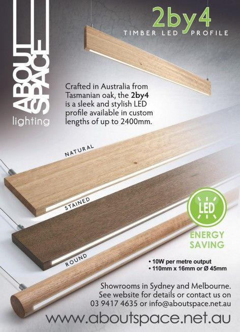 2 by 4 LED profile lighting from About Space & 542 best LED Lighting images on Pinterest | Led strip Strip ... azcodes.com
