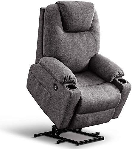 New Mcombo Oversized Power Lift Recliner Chair Massage Heat