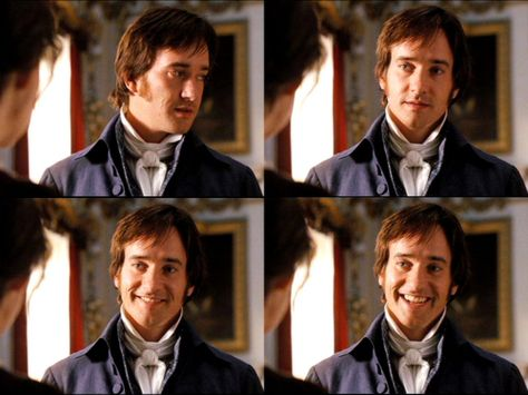 This is THE SMILE. I'm pretty sure all of the fangirls pretty much melted during this scene.