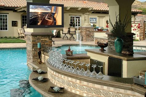 Home Theater News And Reviews Outdoor Tv Setup Outdoor Remodel Backyard Remodel