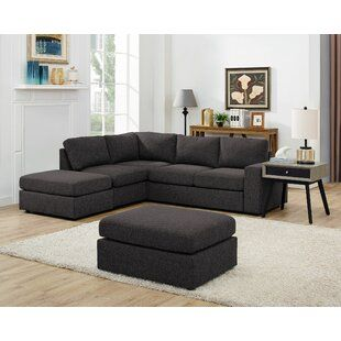 Kelly Clarkson Home Austin 142 Linen Symmetrical Large Sectional In 2020 Modular Sectional Sofa Sectional Sofa Modular Sectional