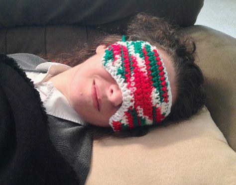 mistletoe Mistletoe sleep mask version 2...