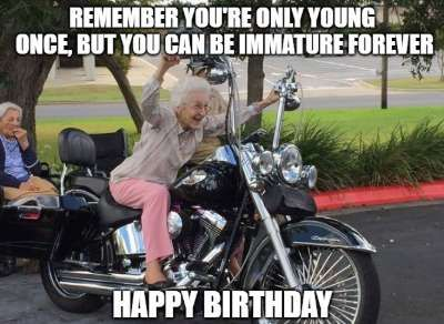 20 Funny Birthday Wishes For Motorcycle Riders Happy Birthday