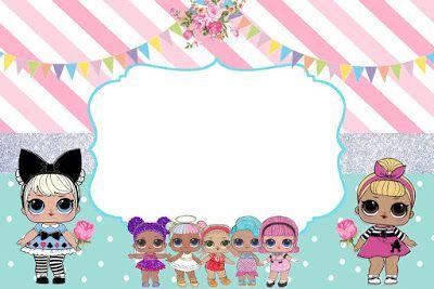 Convite Lol Surprise Gratuito Holidays And Events Festa