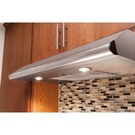 Frigidaire Fhwc3640ms Stainless Steel 36 Under Cabinet Overhead Hood With Three Speed Fan Range Hood Stainless Range Hood Under Cabinet Range Hoods