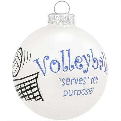 School /& College Custom Painted Volleyball Ornaments Volleyball Starfish Ornament ChristmasHoliday Ornaments Volleyball Gifts