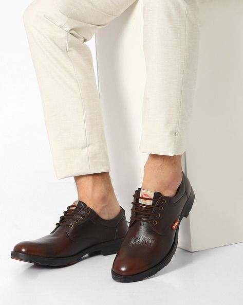 Buy Brown Casual Shoes for Men by Lee