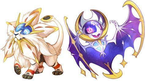 Pokemon sun and moon legendaries