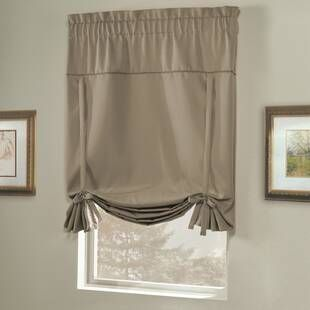 Alcott Hill Hopedale Thermal Lined Curtain Panel In 2021 Tie Up Shades Curtains Panel Curtains