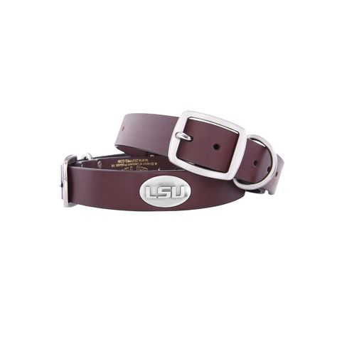 Brown ZEP-PRO NCAA mens Ncaa West Virginia Mountaineers Leather Concho Belt