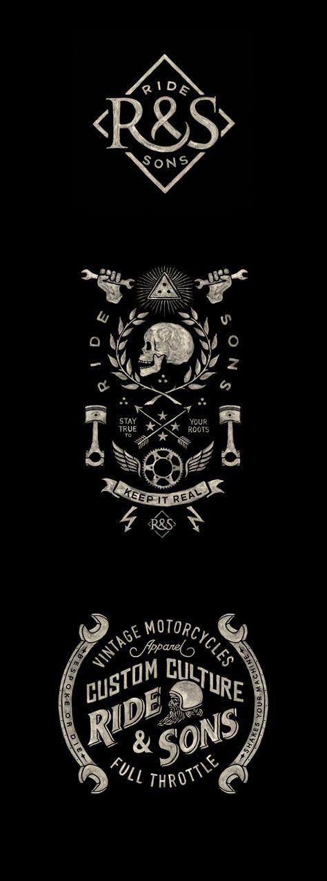 Ride & Sons - Visual Identity | Abduzeedo