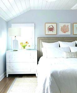 Paint Colors For Beach House Interiors Coastal Bedroom Decorating Coastal Style Bedroom Bedroom Decor Inspiration