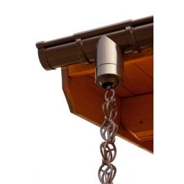 Great Stylish And Sustainable Alternative For The Round Downpipe Attached To Your Guttering The Plastic Rain Chain Kit Is Easy To Install Determine The Requi
