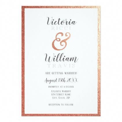 Wedding Rings Custom Invitations Google Docs